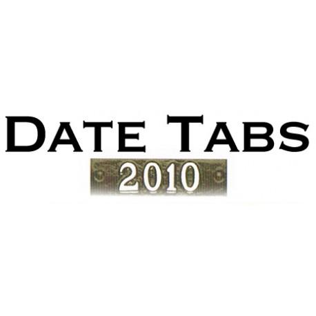 Bronze Date Tab (COM-BDT)