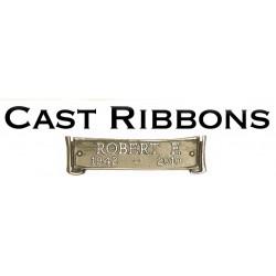 Bronze Cast Ribbon (COM-BCR)