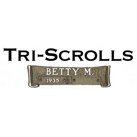 Bronze Tri-Scrolls (COM-BTS)
