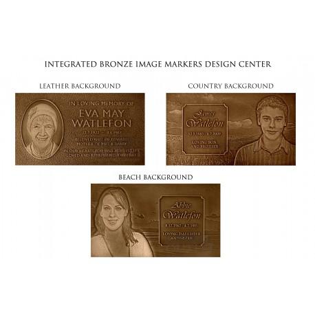 MEMORIAL BRONZE IMAGE MARKER (COM-BZM5)